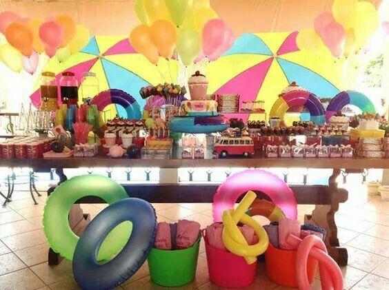 Mejores 23 im genes de fiesta tema verano en pinterest for Arreglar piscina