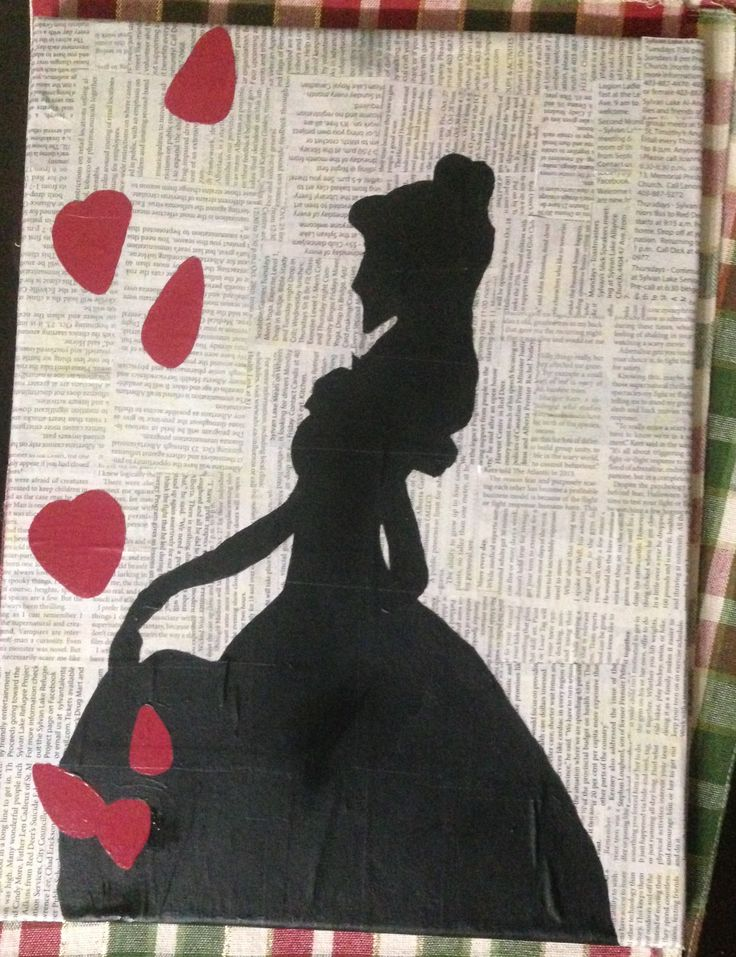Belle - News Paper (Acrylic)