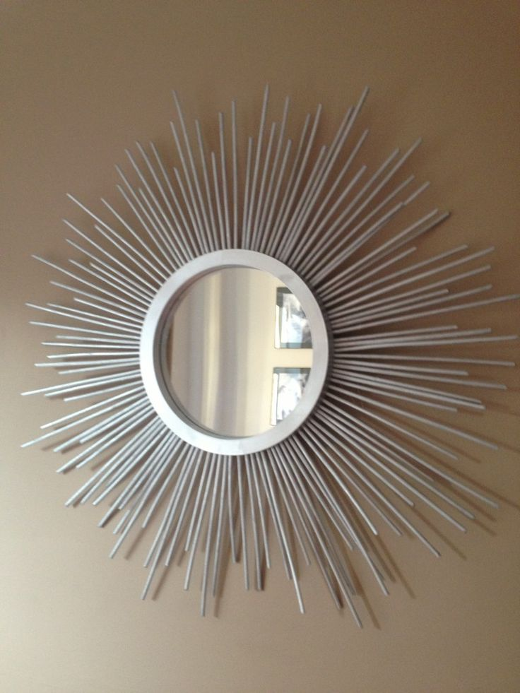 Make A Stunning DIY Sunburst Mirror: Make A Stunning DIY Sunburst Mirror