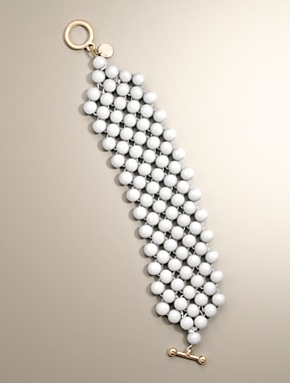 Woven Bead Bracelet #Talbots