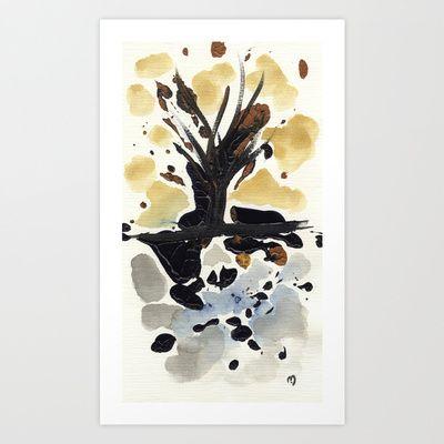 In Limbo - Sepia II Art Print by Marina Kanavaki - $16.22