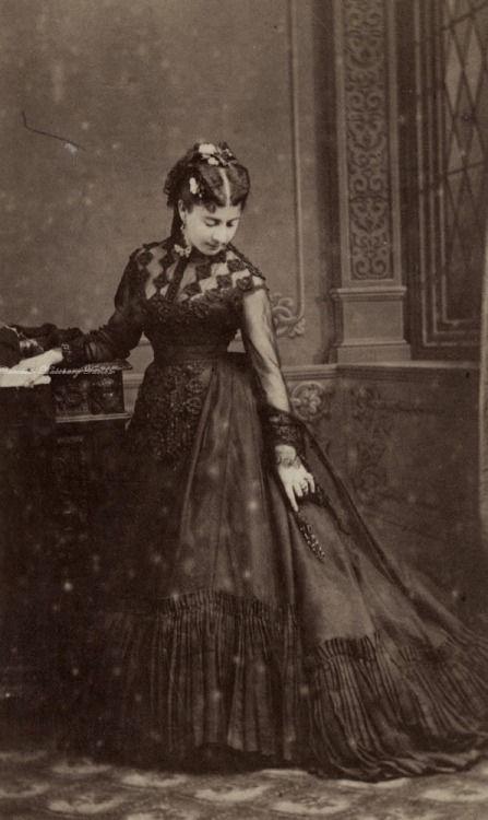 """carolathhabsburg:  """"Early 1870s  """""""