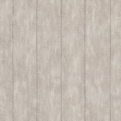 Wood Panel  (128010) - Esta Home Wallpapers - A soft wood panel design with a weathered effect, shown in grey creating a stripe effect. Please request a sample for a true colour match. Free pattern match.
