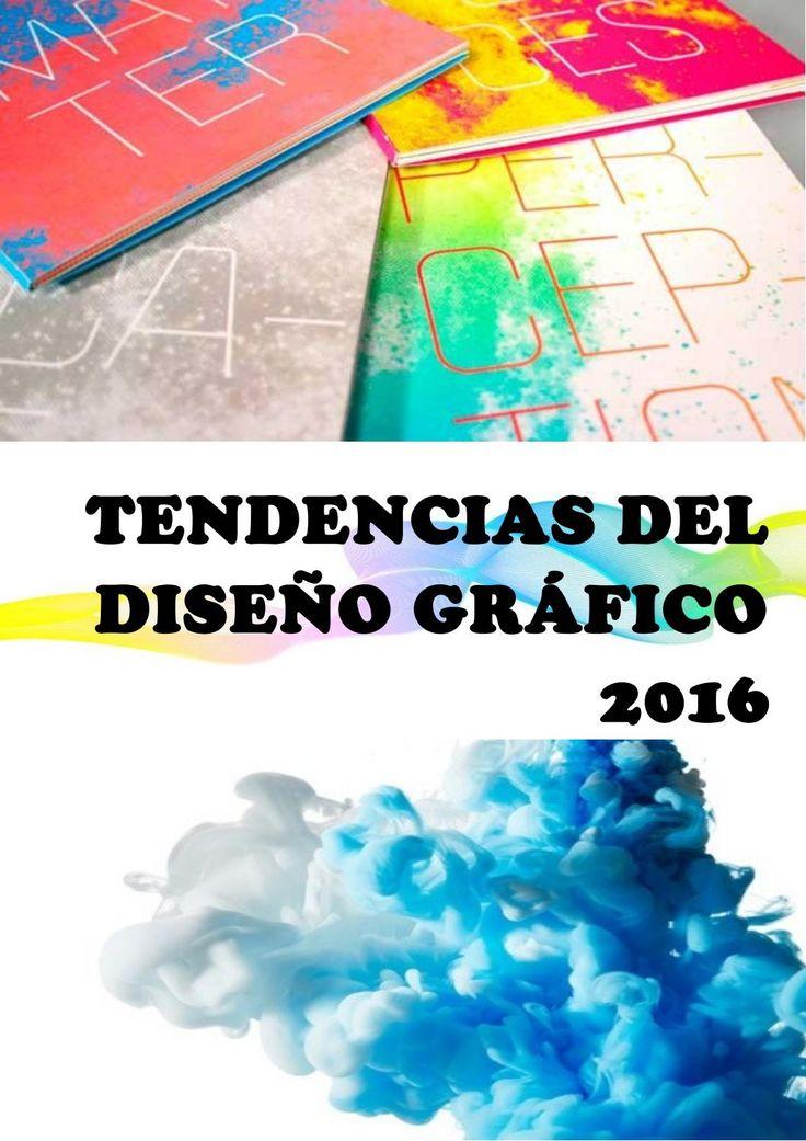 REVISTA TENDENCIAS DEL DISEÑO GRAFICO 2016