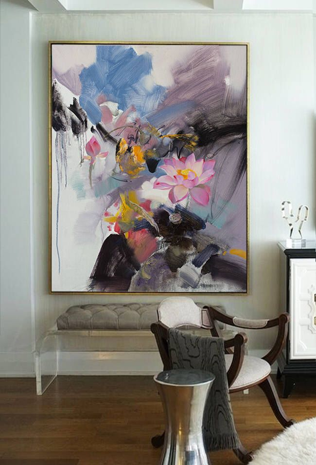 Large Wall Art Abstract Painting Original Art Oil Painting
