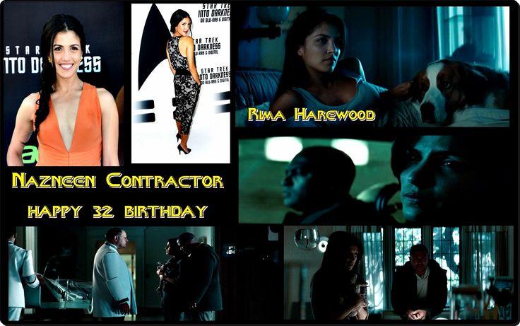 Nazneen Contractor // Star Trek Into Darkness // happy 32 birthday