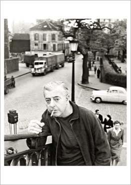 Jacques Prévert, 1955 par Robert DOISNEAU