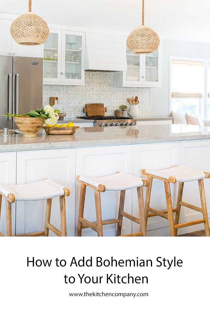Bohemian Style Has Risen And Fallen In Popularity Since The End Of The French Revolution And It S Experienci Home Kitchens Kitchen Inspirations Kitchen Design