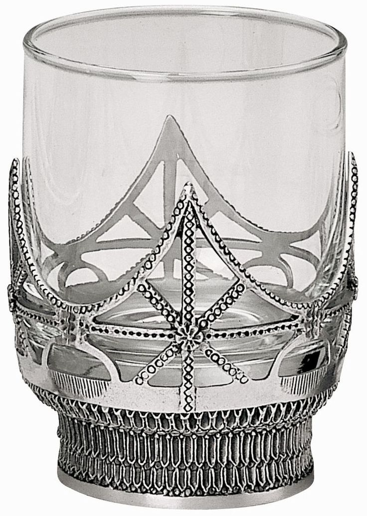 MEDIEVAL WHISKEY TUMBLERPEWTER/GLASS Select to View