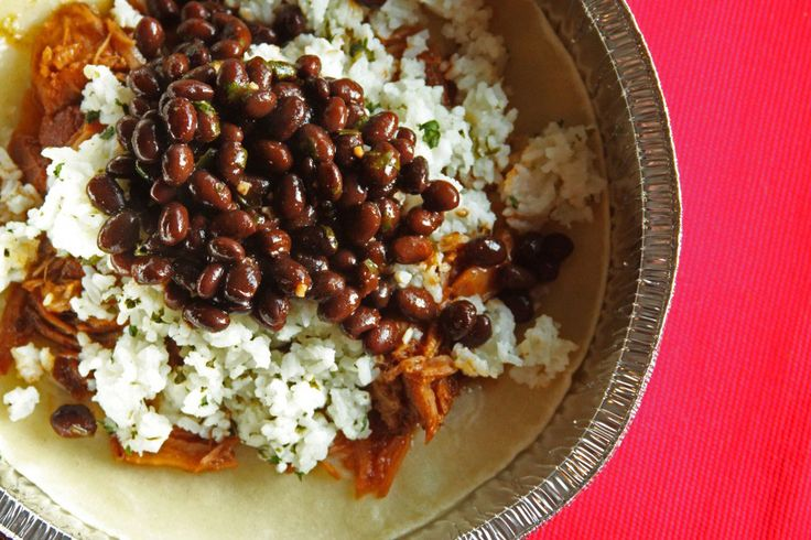 Our Version of Cafe Rios Cilantro-Lime Rice and Black Beans - Favorite Family Recipes