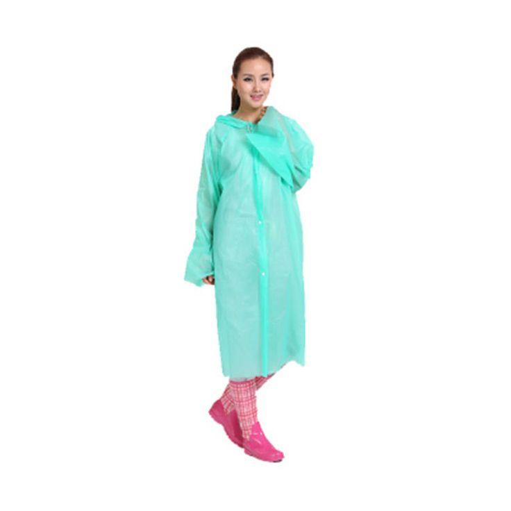Disposable Plastic Poncho Women Rainwear Mens Impermeables Regenmantel Pvc Camping Transparent Cute Womens Raincoats Coat QQG562 #Affiliate