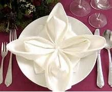 Napkin Folding - How To Fold The Perfect Star