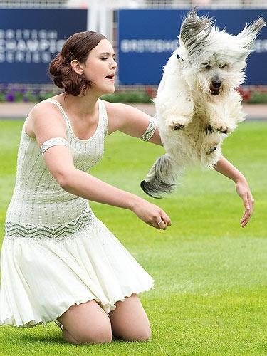 Ashleigh & Pudsey Dog. SOOO cute