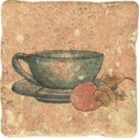 Tretto Beige inserto Tea jup Wall decor - 10x10 - Tretto / Tryton