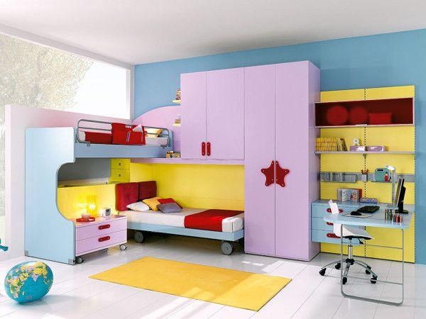 Camerette campania ~ Best camerette moderne images child room baby