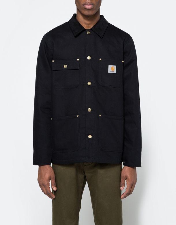 Michigan Chore Coat in Black