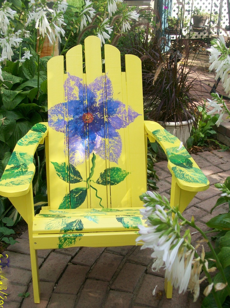 how to prepare a rusted outdoor chair for painting