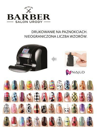Manicure Nailo - drukowanie cyfrowe - Barber