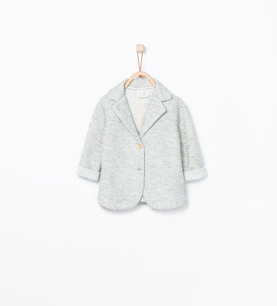 Blazer - zara - baby - kids - fashion