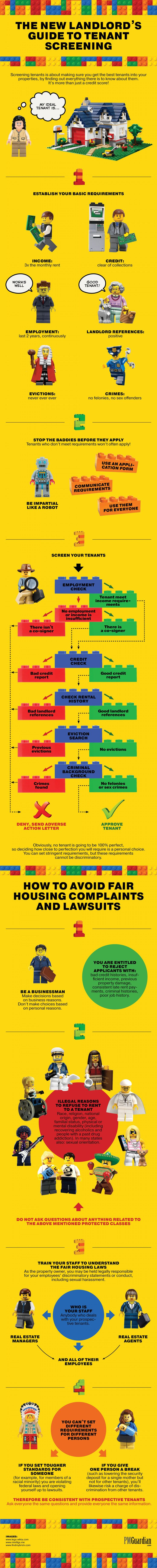 The New #Landlord's Guide to #TenantScreening #Infographic. #Screening #tenants is about making sure you get the best #tenants into your #properties, by finding out everything there is to know about them. It's more than just a credit score! - See more at: http://visual.ly/users/anastasiyakrast