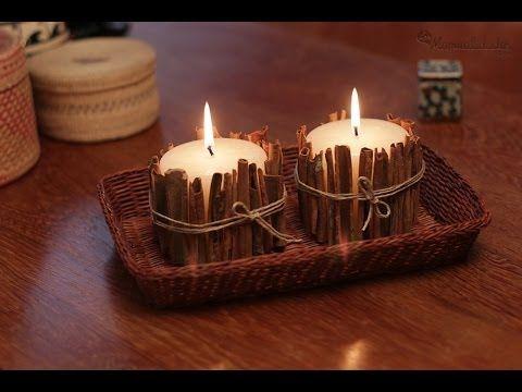 Cómo hacer velas decorativas - YouTube