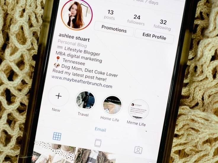 How to write the perfect instagram bio maybe after