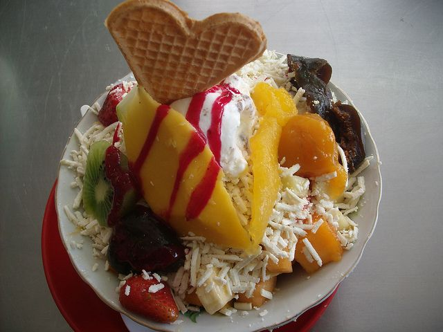 Fruit salad.... from Bogota - Colombia el unico que se viene ami mente es mi hermano