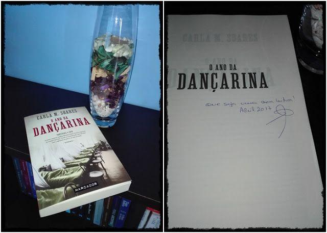 Sinfonia dos Livros: Agora na minha estante   O Ano da Dançarina   Carl...