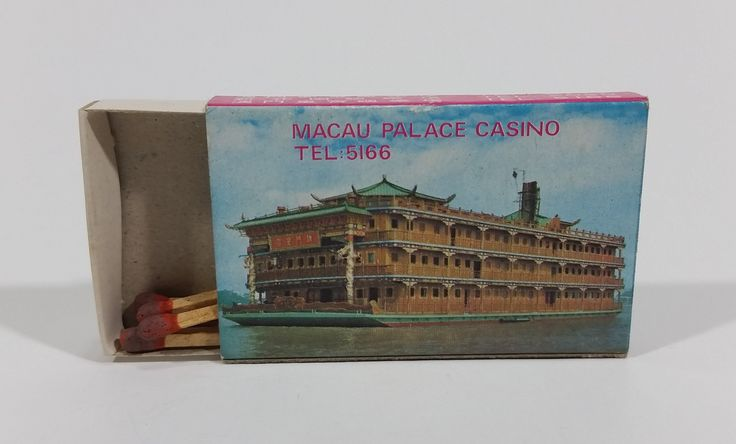 Lisboa Palace Casino Macau Souvenir Promotional Wooden Matches Pack Travel Collectible https://treasurevalleyantiques.com/products/lisboa-casino-macau-souvenir-promotional-wooden-matches-pack-travel-collectible #Lisboa #Casino #Macau #Souvenir #Promotional #Promo #Wooden #Wood #Matchpacks #Matches #Smoking #Tobacciana #Travel #Tourism #Travelling #Collectibles