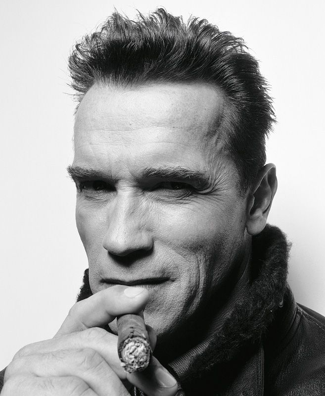 Arnold Schwarzenegger (1947) - Austrian-born American actor, film producer, businessman, investor, writer, philanthropist, former professional bodybuilder and politician. Photo by Rankin