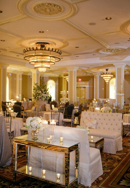 An Elegant Candle Lit Wedding At The Roosevelt New Orleans