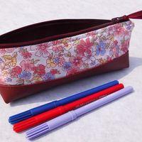 """Trousse à crayons - Pencil case """"Les sacs de génie"""""""