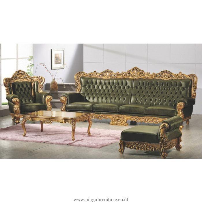 Kursi Sofa Tamu Baroque Mewah Terbaru