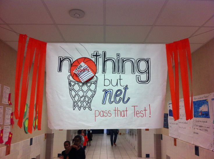 Classroom Decoration Ideas For Middle School ~ Coworker made this for our staar pep rally is