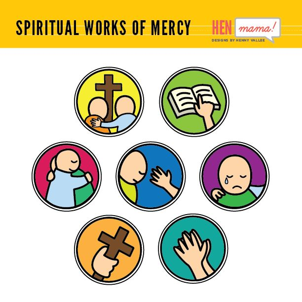 A Practical Guide to the Year of Mercy Part II - Divine ... |Spiritual Works Of Mercy Comfort The Sorrowful