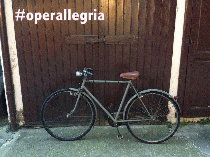 Una bici per partire...  // A bike to start... #operallegria
