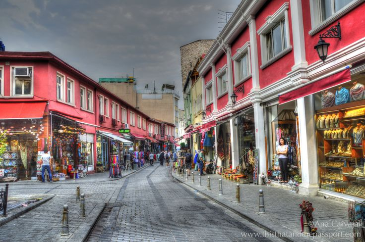https://flic.kr/p/G5Gt3X | Colourful Istanbul | Street in HDR