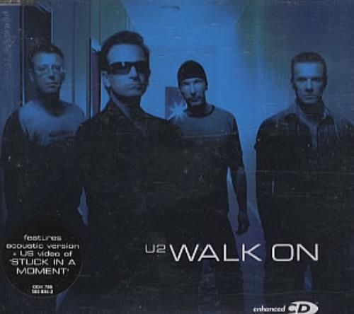 U2 Walk On 2001 UK 3-disc CD/DVD Set CID/X/V788: U2 Walk On (2001 UK 9-track 2-CD+DVD single set featuring the single release from their…