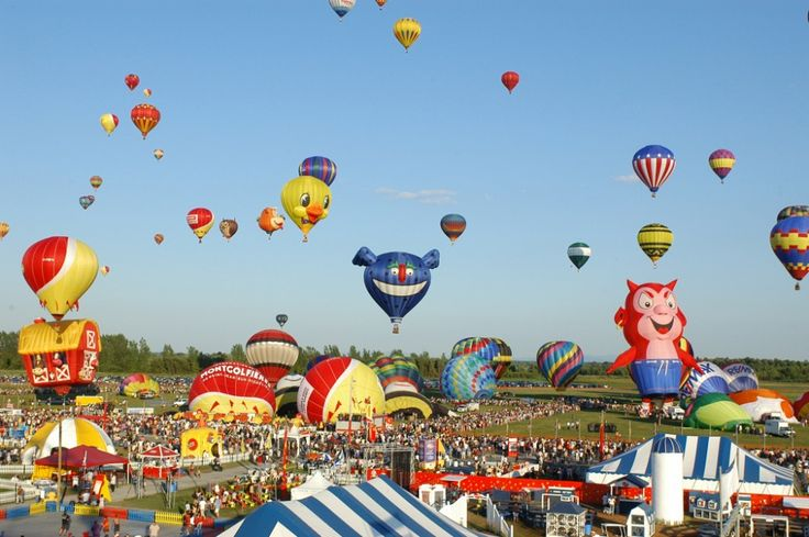 Quebec Gatineau Hot Air Balloon Festival - on our list for Summer 2015