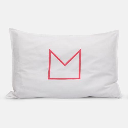 Peach vs Floss Crown Pillowcases | Jennifer + Smith