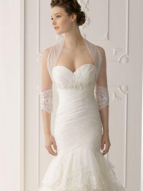 Strapless Laced Tiered Skirt Alma Novia Wedding Dress Siracusa: DimitraDesigns.com