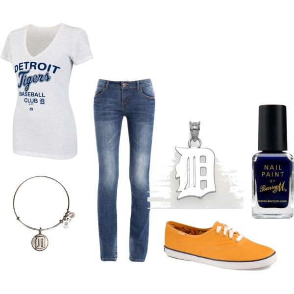 """""""Detriot tigers"""" by mollylsanders on Polyvore"""