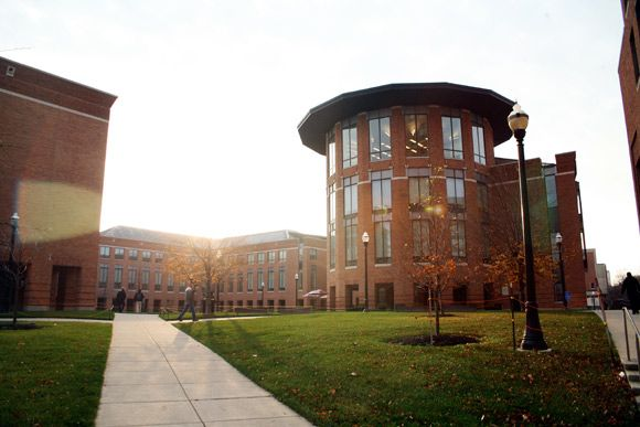 Despite the size of its parent institution, the Fisher College of Business at Ohio State University boasts a relatively intimate classroom experience—with approximately 110–150 students in each incoming full-time MBA cohort—and a close-knit community. Fisher students consequently benefit from the school's wider university network (more than 500,000 alumni in more than 150 countries) and its proximity to major companies based both in