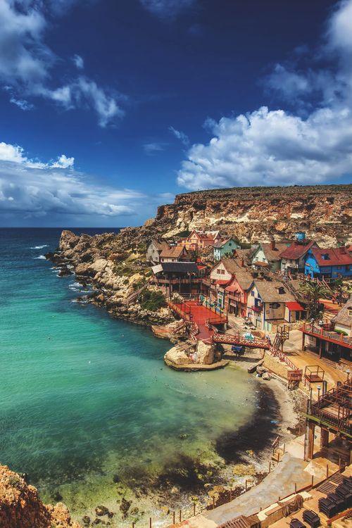 Popeye Village, Malta (by Rex Cen)
