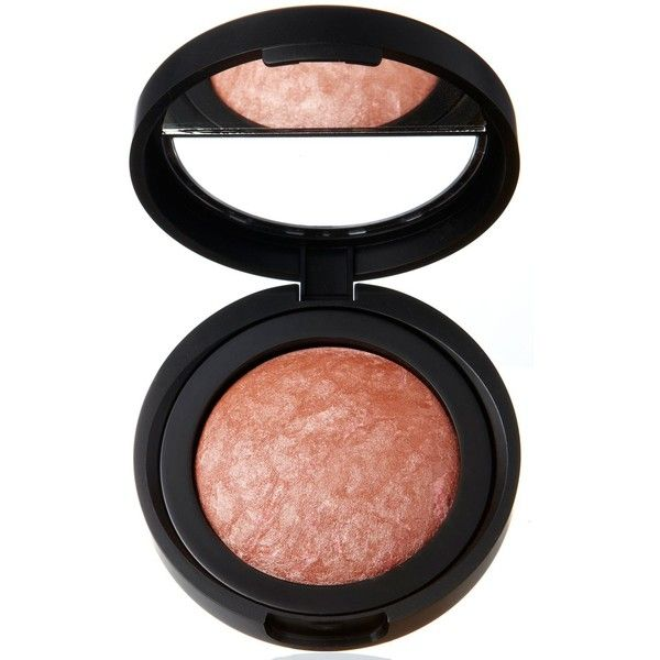 Laura Geller New York Beauty Baked Blush-n-Brighten found on Polyvore featuring beauty products, makeup, cheek makeup, blush, pink grapefruit, laura geller and laura geller blush