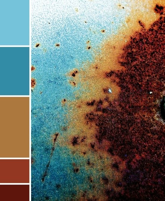 turquoise and brown bathroom colors... to match master bedroom
