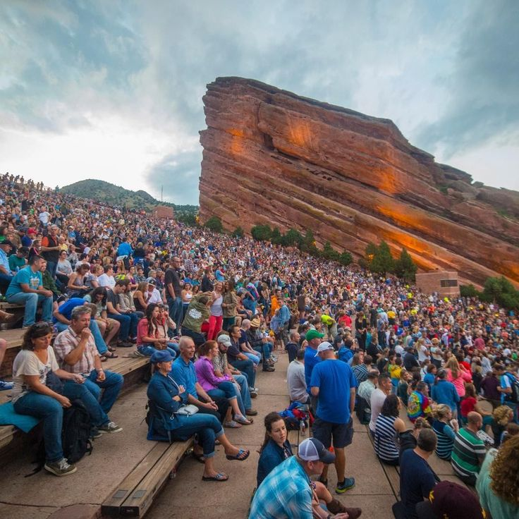 Red Rocks Amphitheatre Shares Full List Of Rescheduled Shows