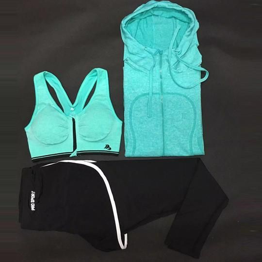 Health Is Enough And More 3pcs Jackets/Bra/Pants Dry Fit Yoga Set Women Sport Set Gym Clothes Sports Fitness Jumpsuit Women Yoga Suit for Girls Meditation Regular price$67.62 Sale price$53.81