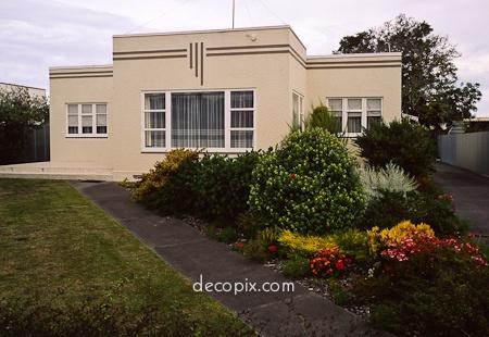 Deco House, Napier, New Zealand