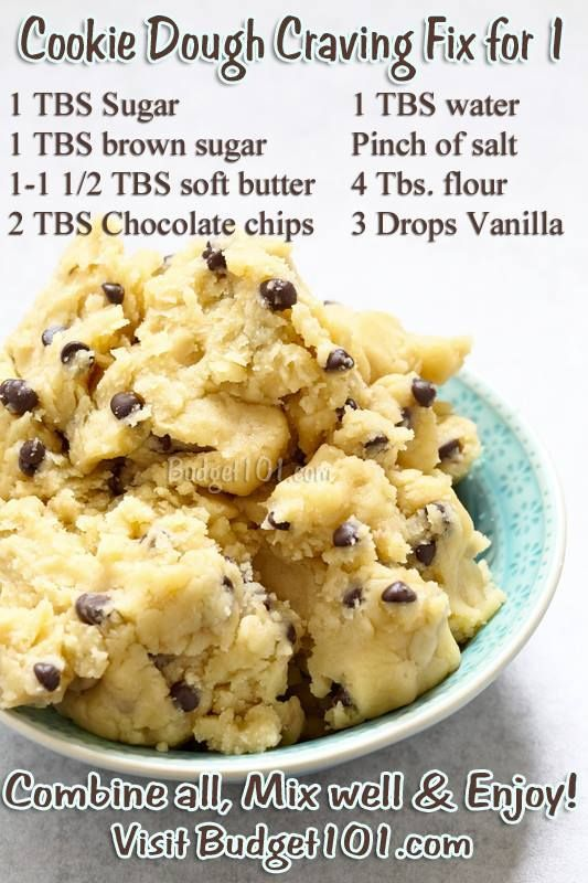 Cookie Dough Craving Fix- eggless mix, so grab a spoon & Eat up!